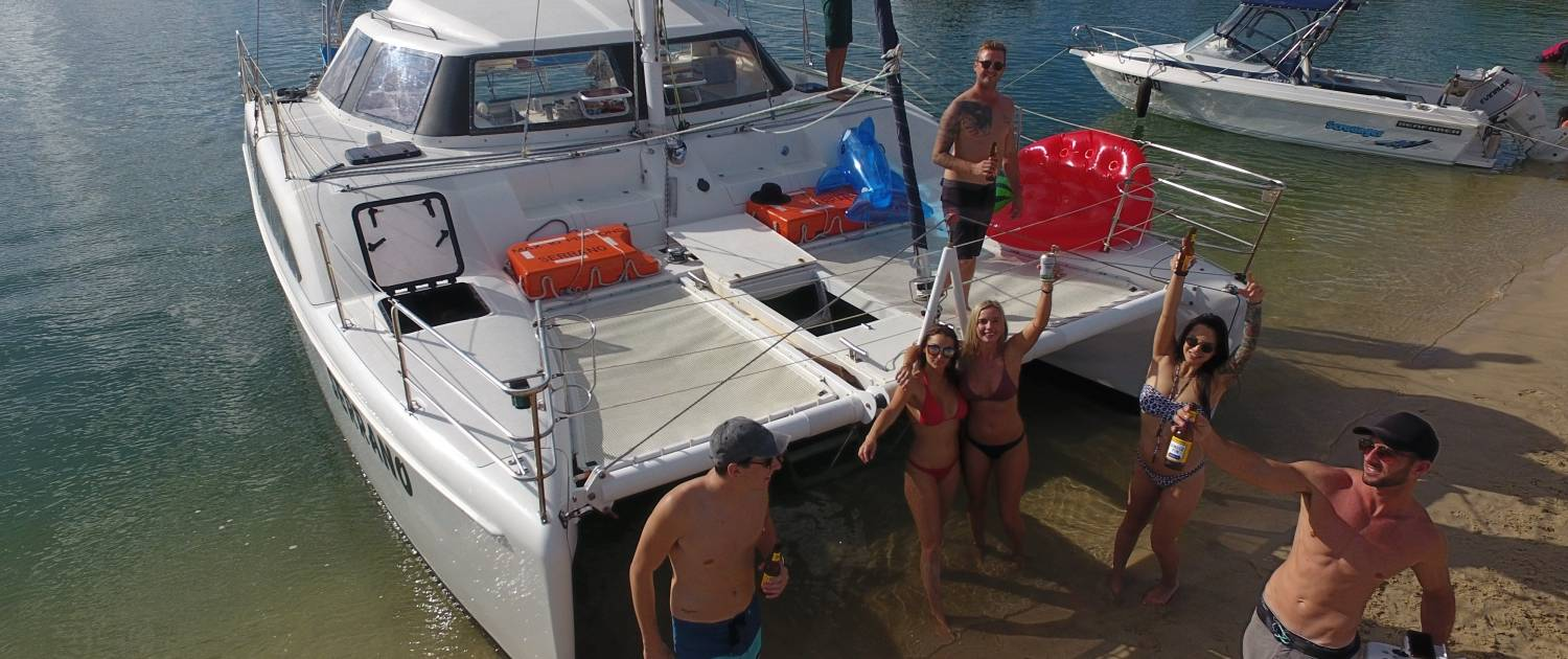Gold Coast Bucks Party 2 Hour Private Sailing Charter2