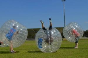 sydney bubble soccer bucks party