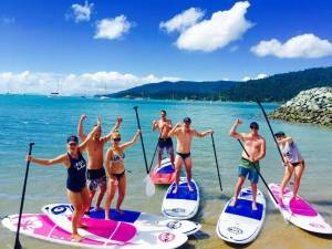Airlie Beach Hens Party Stand Up Paddle Boarding Bar Package