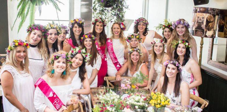 melbourne flower crown hens party