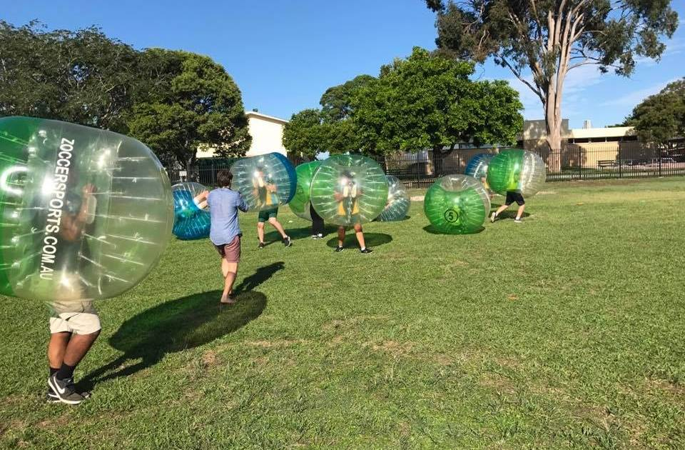 adelaide bubble soccer bucks party