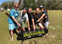 byron bay bucks party laser clay shooting