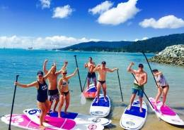Airlie Beach Hens Party Stand Up Paddle Boarding Bar Package 1