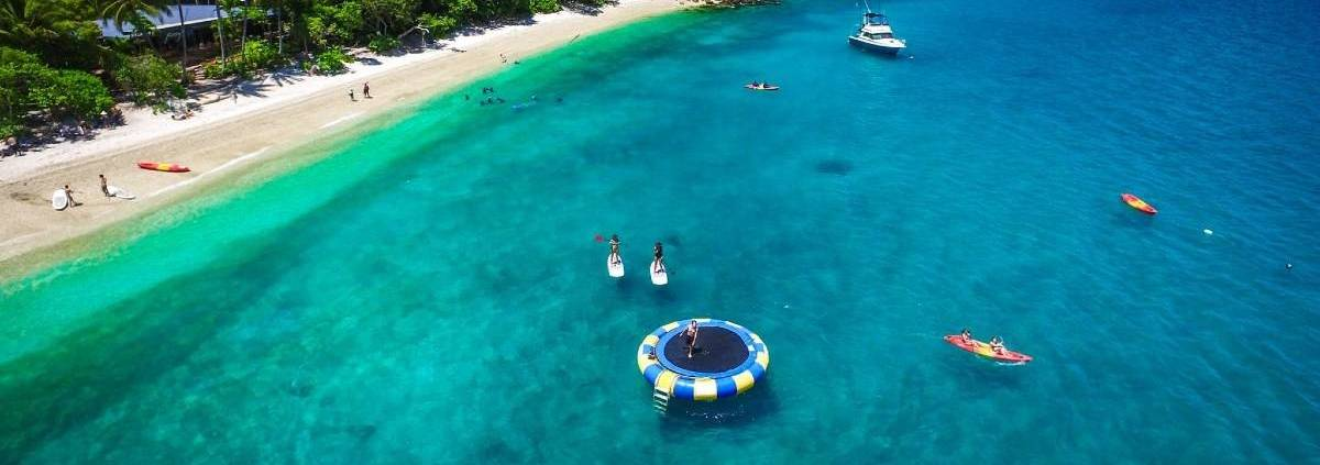 CairnsHensPartyFitzroyIslandAdventure