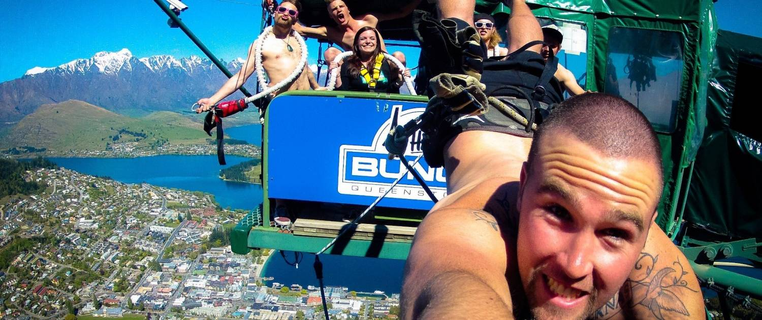 Queenstown Bucks Party Ledge Bungy Package1