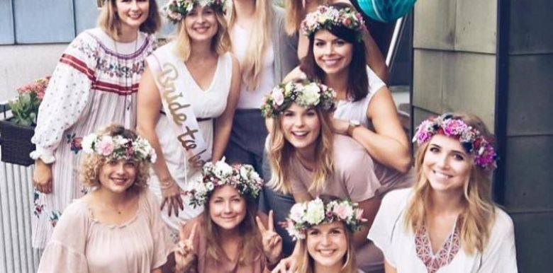 wollongong hens party flower crown
