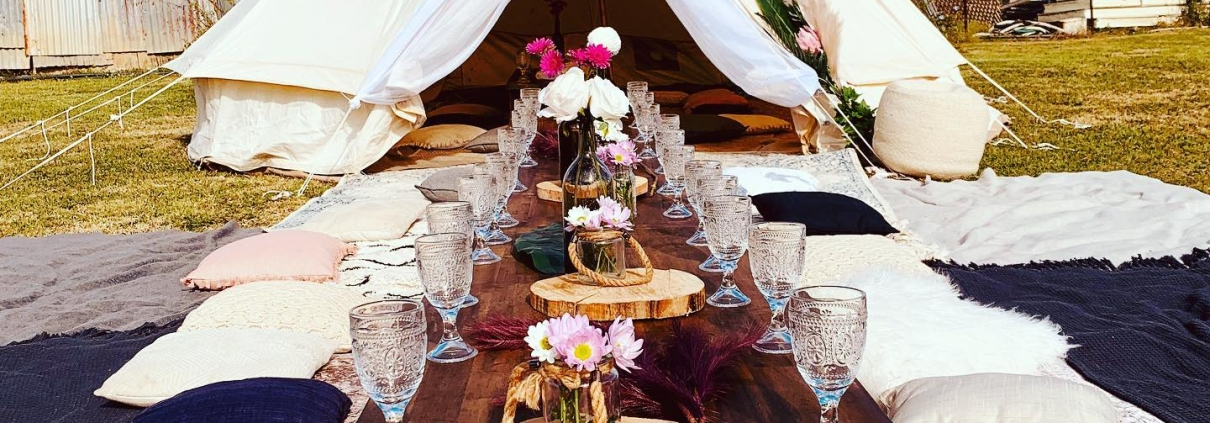 Hosting a Hens Party Boho Style Picnic