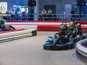 Perth Bucks Party Kart Racing