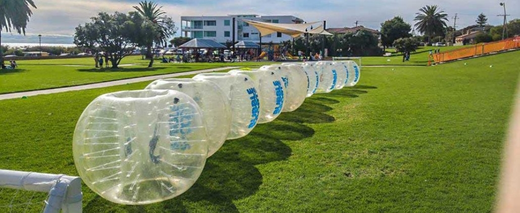 Adelaide Bucks Party Bubble Soccer & Archery Attack